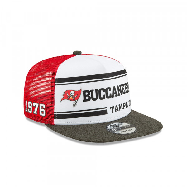 Tampa Bay Buccaneers 2019 NFL On-Field Sideline 9FIFTY Snapback Cap Home