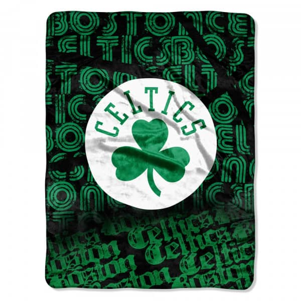 Boston Celtics Micro Raschel Super Plush NBA Decke