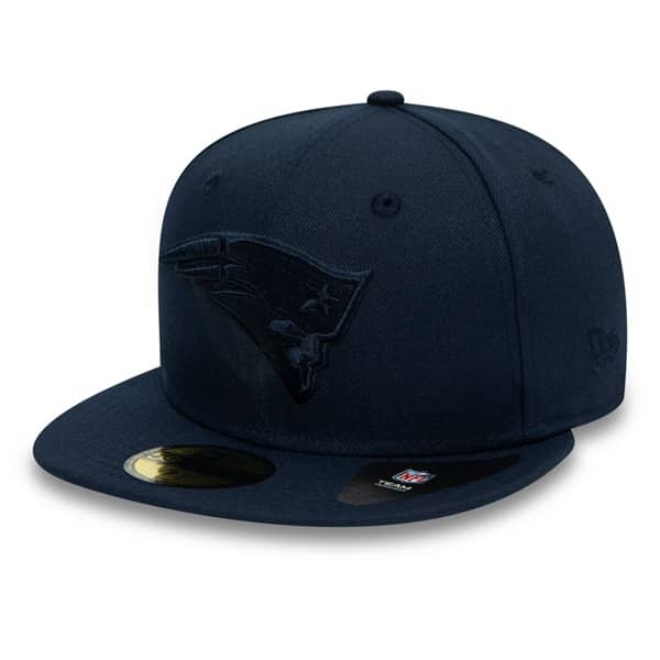 New England Patriots Poly Tone 59FIFTY Fitted NFL Cap