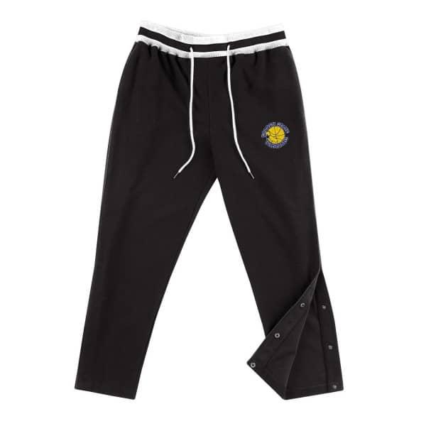 Golden State Warriors Reversed Fleece Mitchell & Ness Tearaway NBA Sweatpants