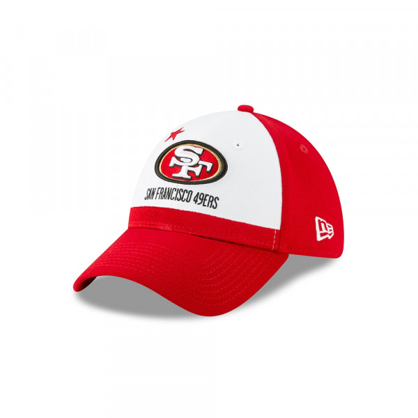 5833e9258c4ab New Era San Francisco 49ers 2019 NFL Draft 39THIRTY Flex Fit Cap On-Stage