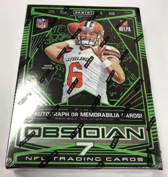 2018 Panini Obsidian Football Hobby Box NFL