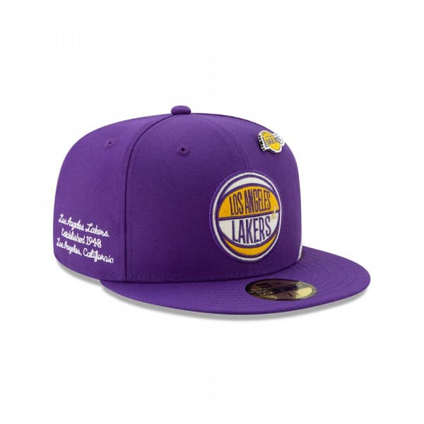 Los Angeles Lakers 2019 NBA Draft 59FIFTY Fitted Cap