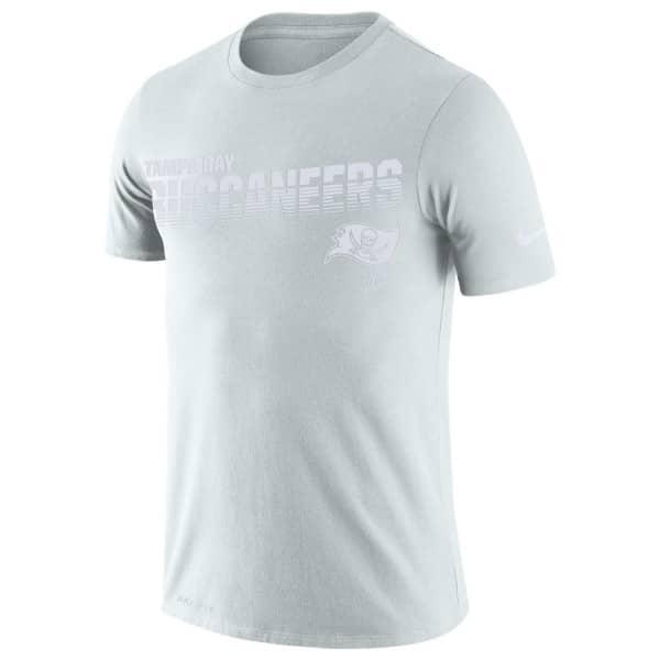 Tampa Bay Buccaneers 2019 NFL Sideline Platinum T-Shirt