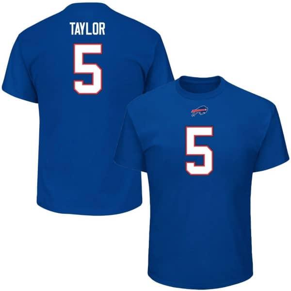 Tyrod Taylor #5 Buffalo Bills Player NFL T-Shirt