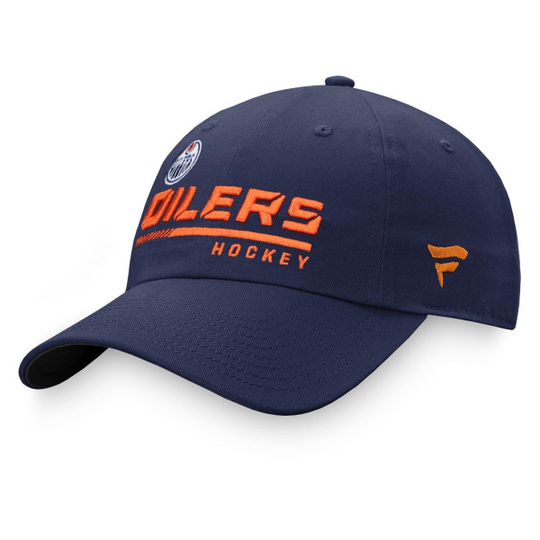 Edmonton Oilers 2020/21 NHL Authentic Pro Locker Room Fanatics Adjustable Cap