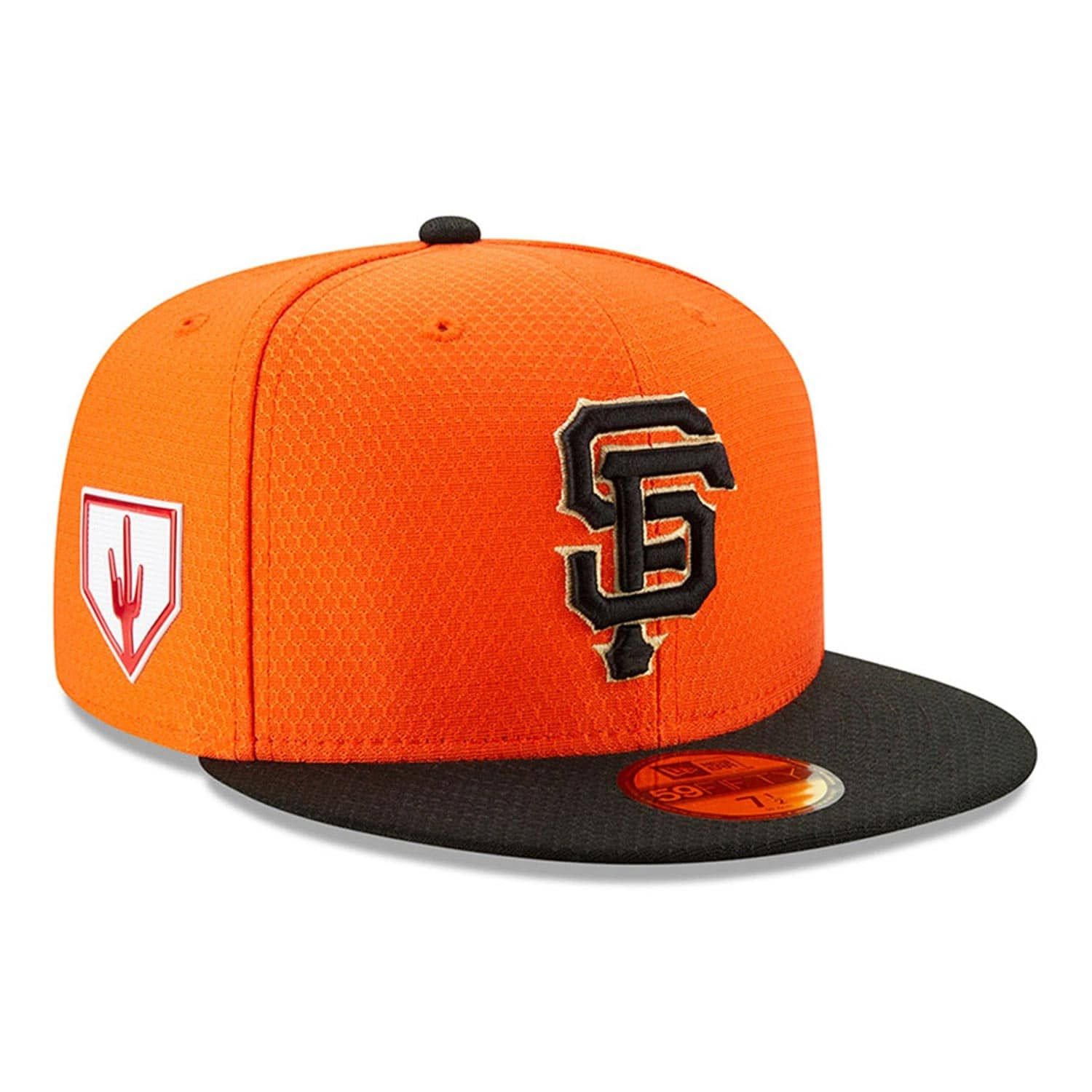 sale retailer 3c491 e2b02 New Era San Francisco Giants 2019 Spring Training 59FIFTY Fitted MLB Cap  Orange   TAASS.com Fan Shop