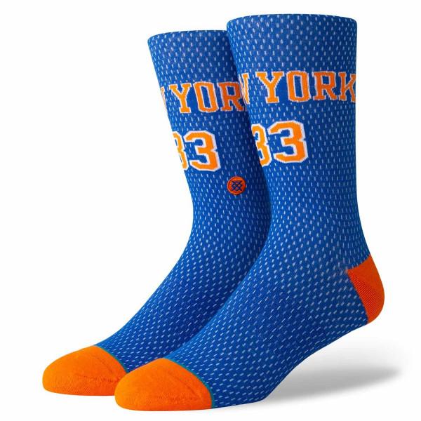 100% authentic b0f1e 96a24 New York Knicks Patrick Ewing #33 Jersey NBA Socks