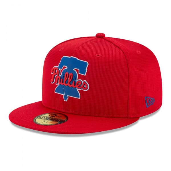 Philadelphia Phillies 2021 MLB Authentic Clubhouse New Era 59FIFTY Fitted Cap