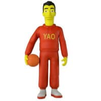 The Simpsons 25th Anniversary Action Figur – Yao Ming