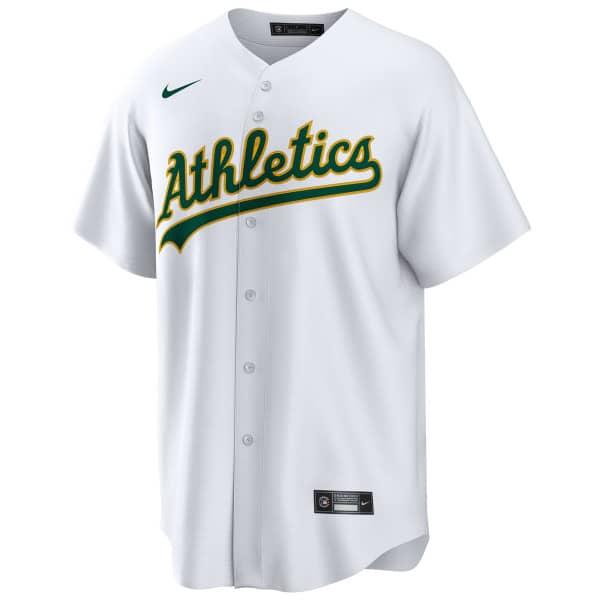 Oakland Athletics 2020 Nike MLB Replica Home Trikot Weiß