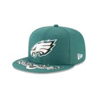 Philadelphia Eagles 2019 NFL Draft On-Stage 9FIFTY Snapback Cap
