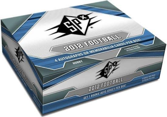 2012 Upper Deck SPx Football Hobby Box