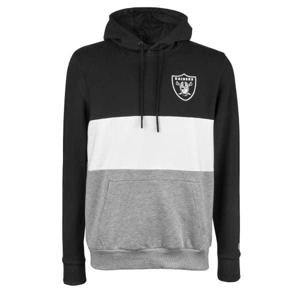 Las Vegas Raiders 2019 Color Block NFL Hoodie