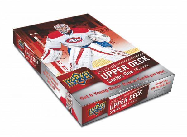 2015/16 Upper Deck Series 1 Hockey Hobby Box NHL