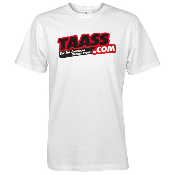 TAASS.com Logo T-Shirt Weiß