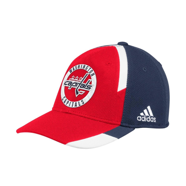 adidas Washington Capitals Echo Flex Fit NHL Cap  4d823f562302