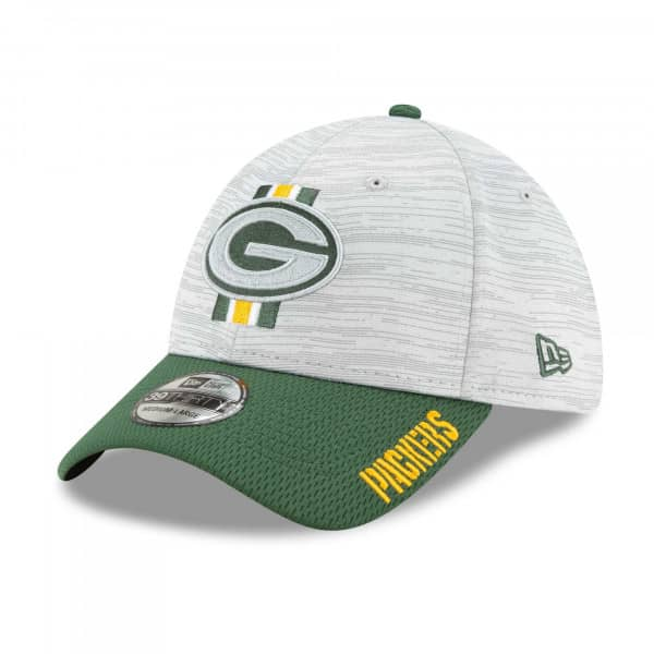 Green Bay Packers 2021 NFL Offical Training New Era 39THIRTY Flex Fit Cap