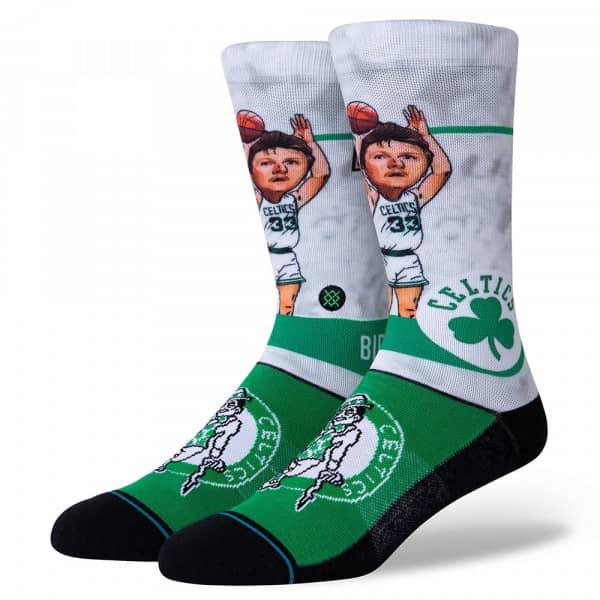 Boston Celtics Larry Bird Big Head NBA Socken
