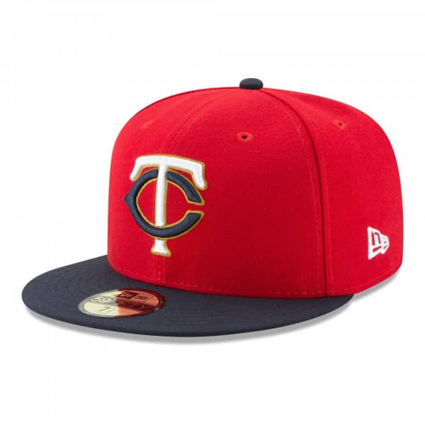 Minnesota Twins Authentic New Era 59FIFTY Fitted MLB Cap Alternate 2
