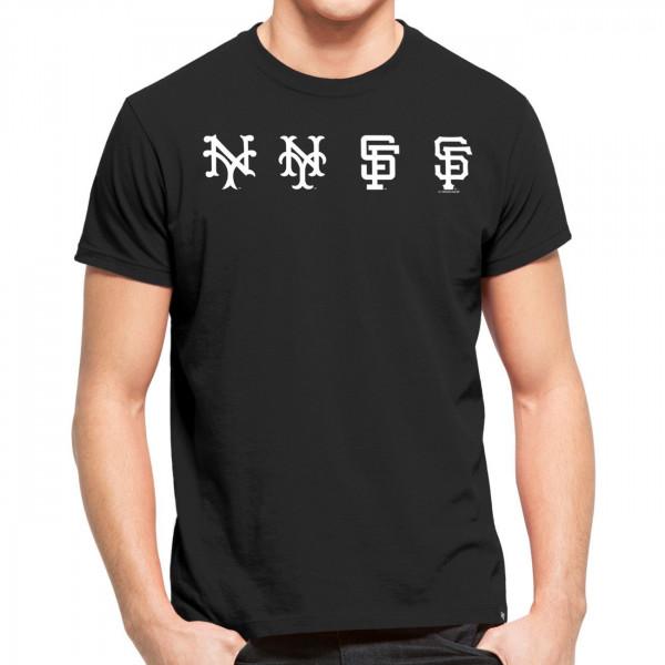 San Francisco Giants Logo Evolution MLB T-Shirt Schwarz