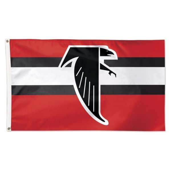 Atlanta Falcons Throwback WinCraft Deluxe NFL Hissfahne