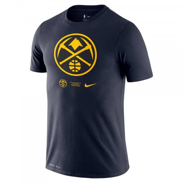Denver Nuggets 2020 Bold Pride Logo Nike Dri-FIT NBA T-Shirt