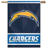 Los Angeles Chargers Vertical NFL Fahne