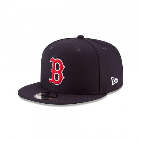 Boston Red Sox Basic Logo MLB Snapback Cap