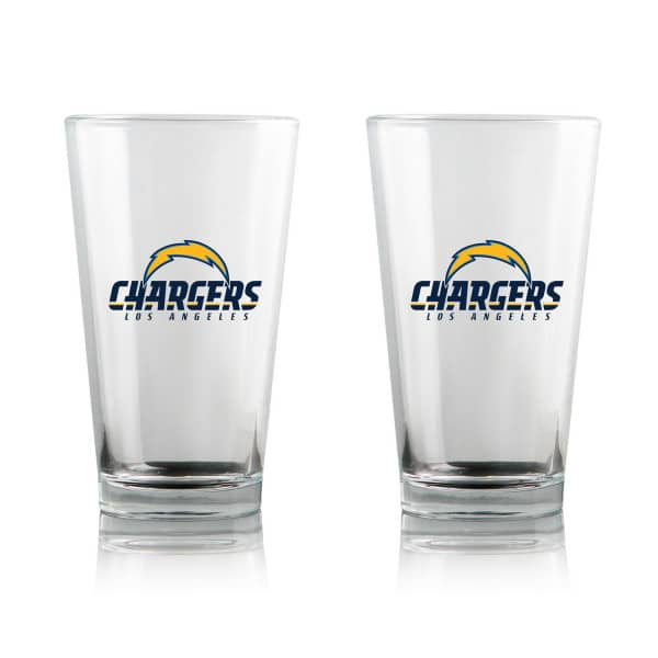 Los Angeles Chargers Highball NFL Pint Glas Set (2 Stk.)