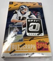 2018 Panini Donruss Optic Football Hobby Box NFL
