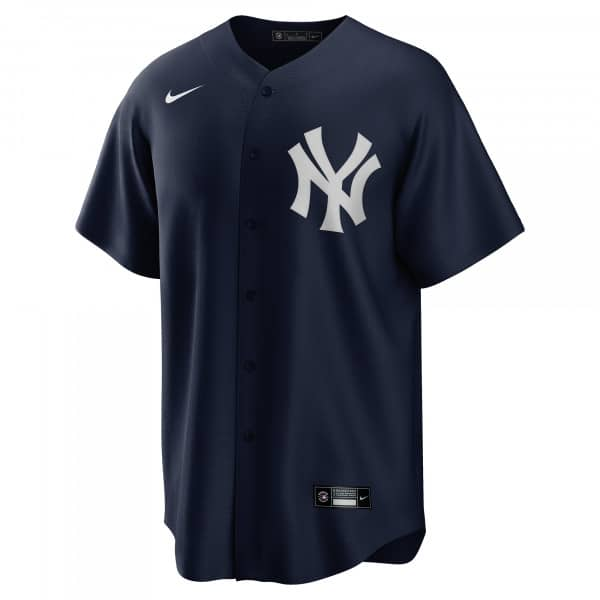 New York Yankees 2020 Nike MLB Replica Alternate Trikot Navy