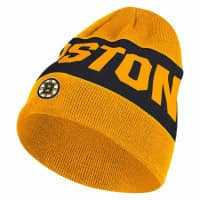 Boston Bruins 2019/20 Coach Beanie NHL Wintermütze