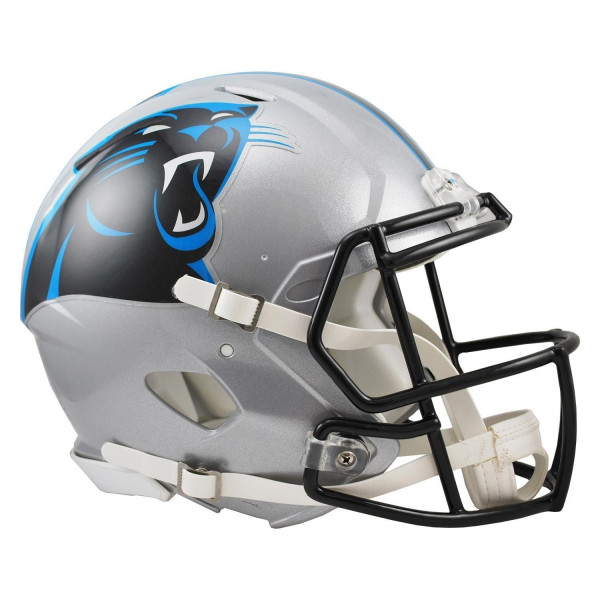 Carolina Panthers Authentic NFL Speed Full Size Helm