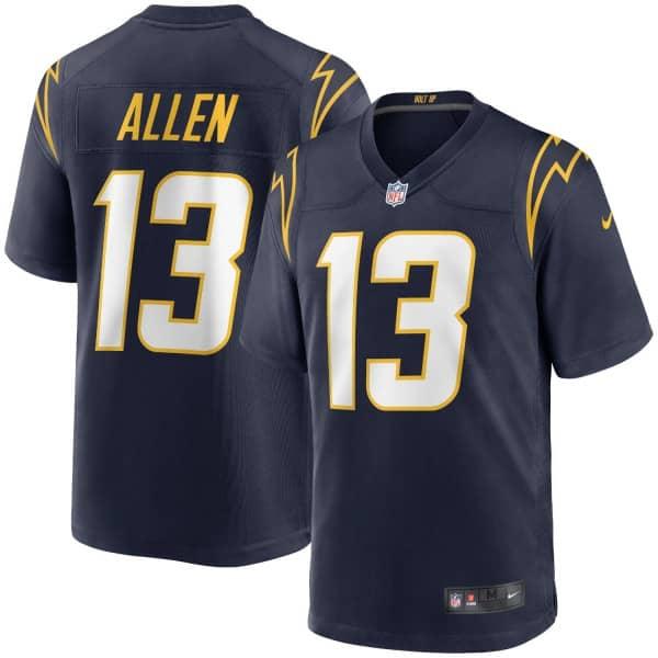 Keenan Allen #13 Los Angeles Chargers Nike Game NFL Trikot Alternate Navy