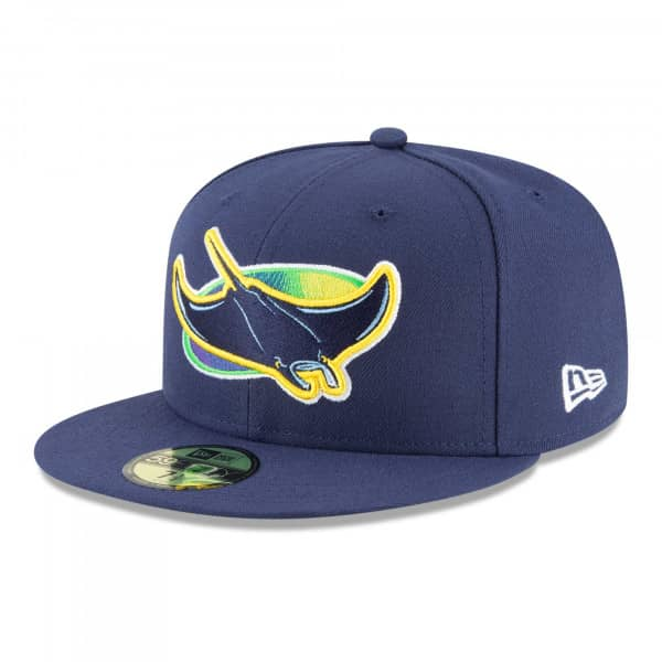 Tampa Bay Rays Authentic 59FIFTY Fitted MLB Cap Alternate