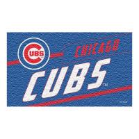 Chicago Cubs Punch Print MLB Kokos Fußmatte