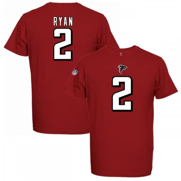 Matt Ryan #2 Atlanta Falcons Player NFL T-Shirt