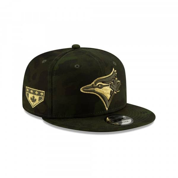 wholesale dealer a80a6 43278 New Era Toronto Blue Jays 2019 Armed Forces Day 9FIFTY Snapback MLB Cap    TAASS.com Fan Shop