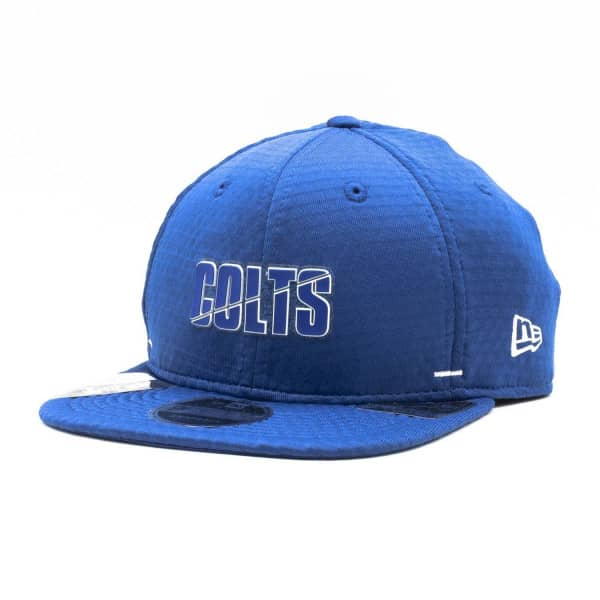 Indianapolis Colts 2020 Summer Sideline New Era Original Fit 9FIFTY Snapback NFL Cap