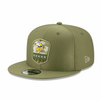 Minnesota Vikings 2019 On-Field Salute to Service 9FIFTY Snapback NFL Cap