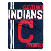 Cleveland Indians Super Plush MLB Decke