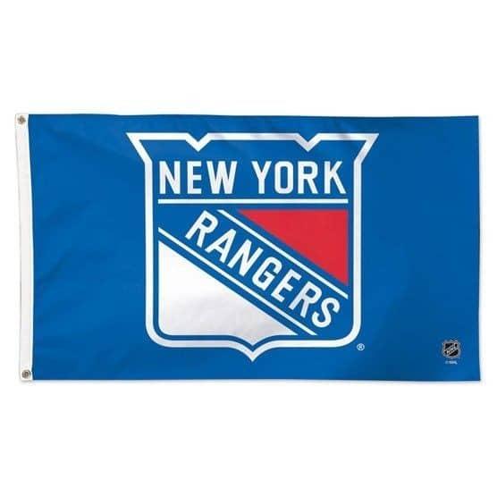 New York Rangers Deluxe Eishockey NHL Hissfahne 150 x 90 cm