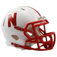 Nebraska Cornhuskers College Football Speed Mini Helm
