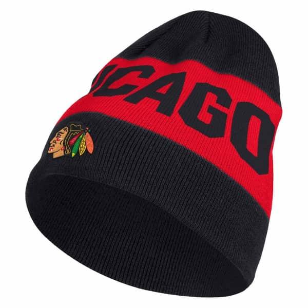Chicago Blackhawks 2019/20 Coach Beanie NHL Wintermütze