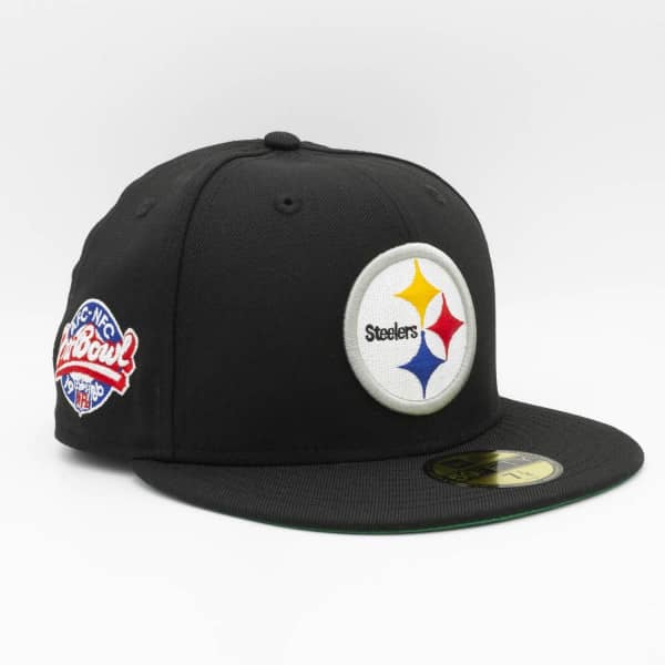 Pittsburgh Steelers 1986 Pro Bowl New Era 59FIFTY Fitted NFL Cap Schwarz