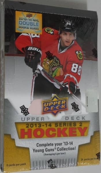 2013/14 Upper Deck Series 2 Hockey Hobby Box NHL