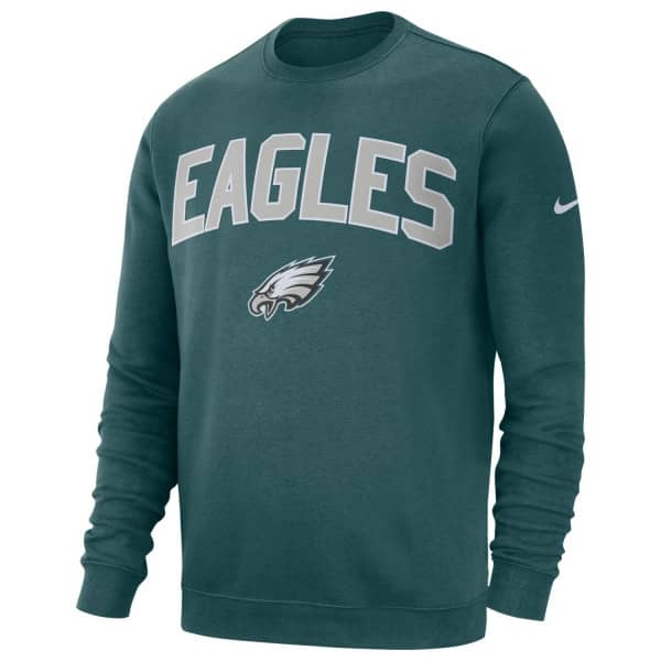 Philadelphia Eagles Club Fleece NFL Crewneck Sweatshirt