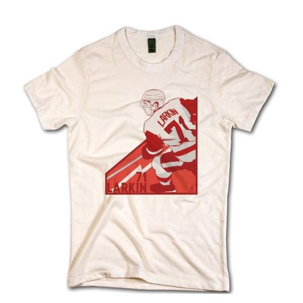 Detroit Red Wings Dylan Larkin NHL T-Shirt Beige