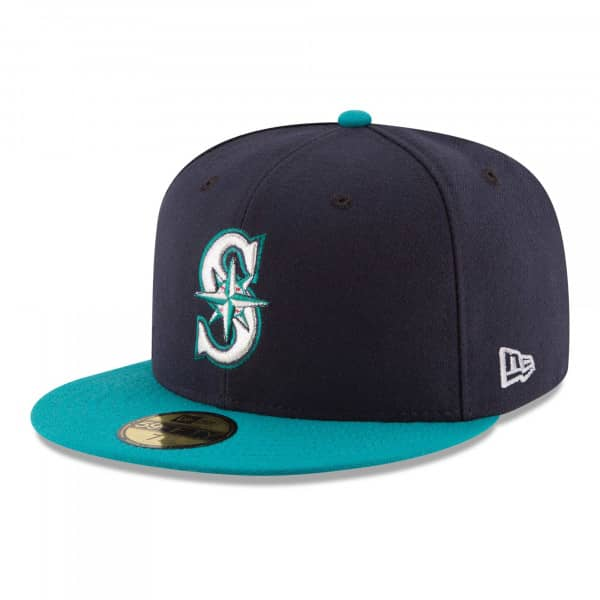 Seattle Mariners Authentic 59FIFTY Fitted MLB Cap Alternate
